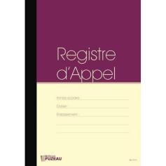 REGISTRE D'APPEL PAR CLASSE