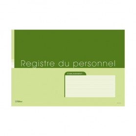REGISTRE DU PERSONNEL