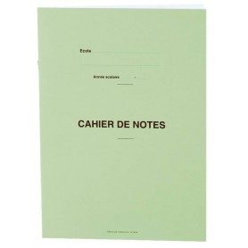 CAHIER DE NOTES 10 RELEVES