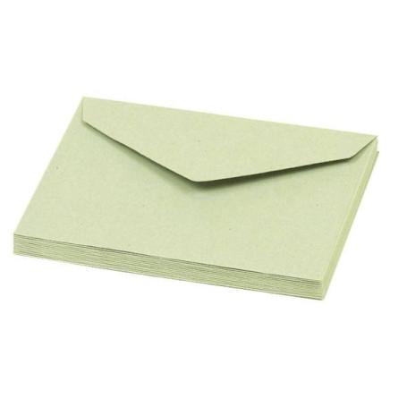 ENVELOPPES VERTES par paquet de 500