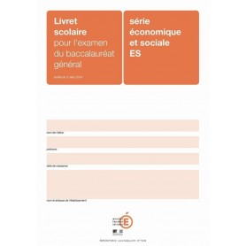 LIVRET SCOLAIRE ES ORANGE + ENCART