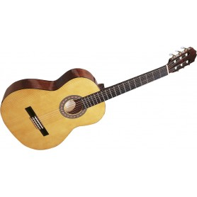 GUITARE CLASSIQUE CONSERV 3/4 BRUNE GSM 9B-3 NATUREL VERNIS BRILLANT