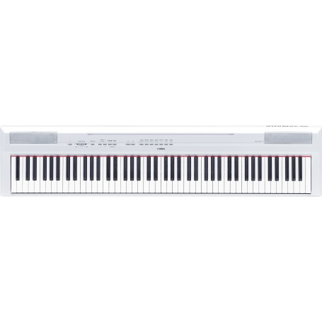 PIANO NUMERIQUE COMPACT 88 TOUCHES GHS BLANC PURE CF YAMAHA P115WH BLANC
