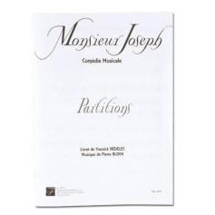 LIVRET MONSIEUR JOSEPH - COMEDIE MUSICALE