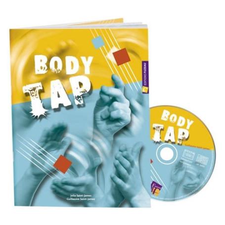 BODY TAP ESPAGNOL - LIVRET CD - répertoire pour percussions corporelles