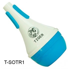 SOURDINE PLASTIQUE TROMPETTE TIGER BY KINGSTON T SOTR1