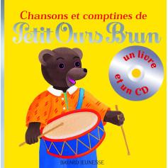CHANSONS ET COMPTINES DE PETIT OURS BRUN_LIVRE CD
