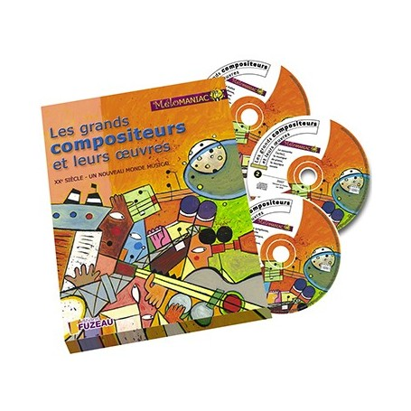 COFFRET LES GRANDS COMPOSITEURS VOL.2