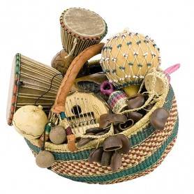 PANIER AFRICAIN SELECTION 8 INSTRUMENTS
