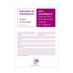 INTERCALAIRE DE REDOUBLEMENT TERMINALE S