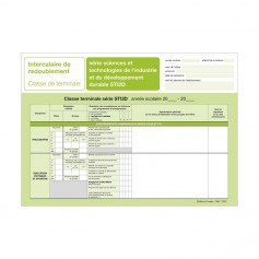 INTERCALAIRE REDOUBLEMENT TERM STI2D + ENCART