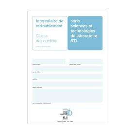 INTERCALAIRE REDOUBLEMENT 1ERE STL+ ENCART