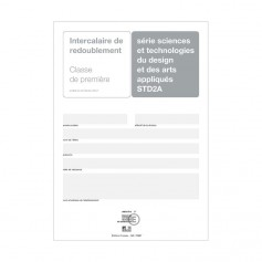 INTERCALAIRE REDOUBLEMENT 1ER STD2A + ENCART