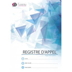 REGISTRE D'APPEL CONTROLE PAR DEMI-JOURNEE PAGES DECOUPEES