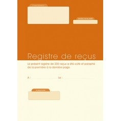 REGISTRE DE RECUS