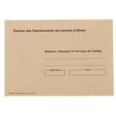 ENVELOPPES BULLE MADAME MONSIEUR LE PRINCIPAL RECTO