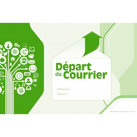 REGISTRE DEPART DU COURRIER