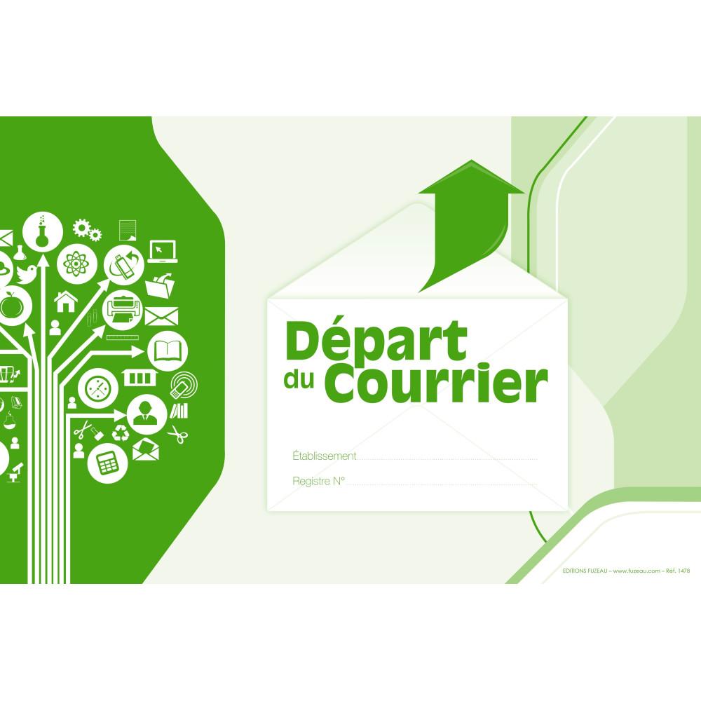 Image Courrier registre depart du courrier