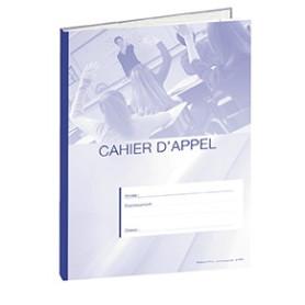 CAHIER D'APPEL 8 HEURES DE COURS BLEU