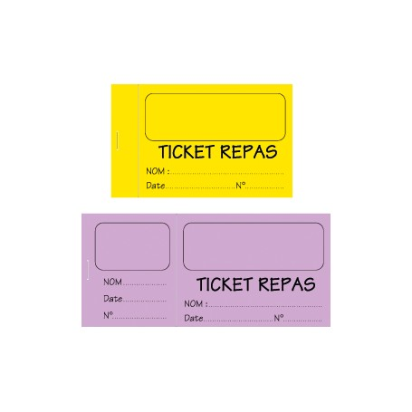 TICKETS PERSONNALISES