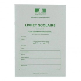 LIVRET SCOLAIRE BAC PRO 3 ANS