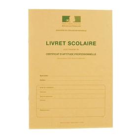 LIVRET SCOLAIRE CAP