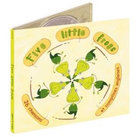 CD FIVE LITTLE FROGS