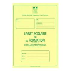 LIVRET SCOLAIRE BAC PRO. AGRICOLE 3 ANS