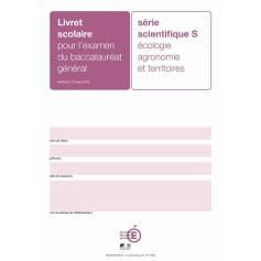 LIVRET SCOLAIRE S AGRICOLE PRUNE + ENCART