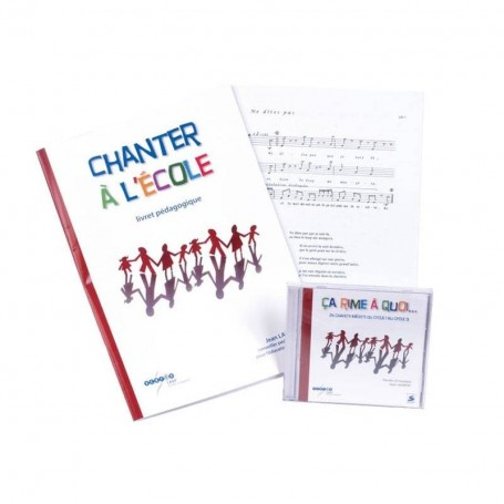 CHANTER A L'ECOLE (COFFRET COMPLET)