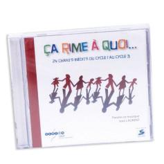 CD ÇA RIME A QUOI...