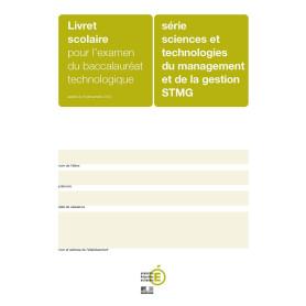 LIVRET SCOLAIRE STMG VERT OLIVE + ENCART
