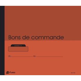 CARNET DE 100 BONS DE COMMANDE