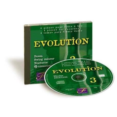 EVOLUTION VOL 3 Répertoire pour flûte à bec