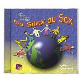 DU SILEX AU SAX DE JM AMIS CD 4 TITRES