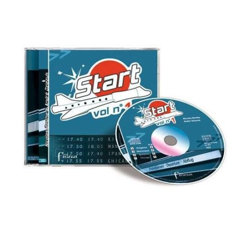 START VOL 1 *CD* POUR LA FLUTE A BEC
