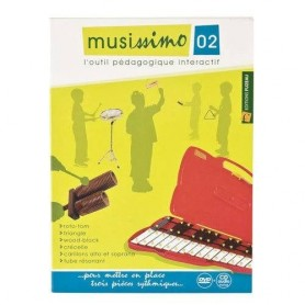 DVD MUSISSIMO VOL 2 POUR PERCUSSIONS