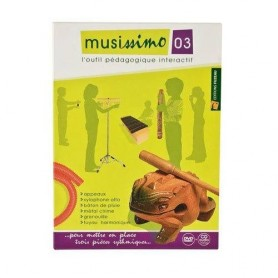 DVD MUSISSIMO VOL 3 POUR PERCUSSIONS