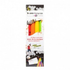PACK 8 TUBES BOOMWHACKERS COLORES