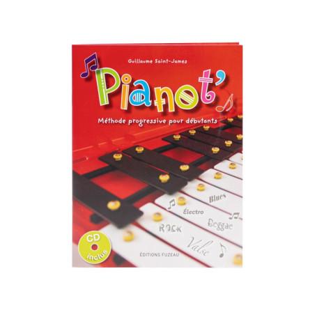 LIVRET-CD METHODE PROGRESSIVE PIANOT'