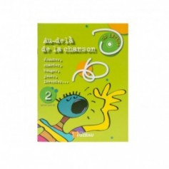 LIVRET-CD AU DELA D UNE CHANSON vol.2
