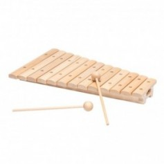 XYLOPHONE 13 LAMES - ERABLE + 2 MAILLOCHES