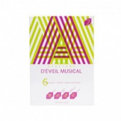 COFFRET LIVRE CD ATELIER D EVEIL MUSICAL VERT