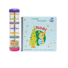 Livre-CD NOEL + BATON DE PLUIE