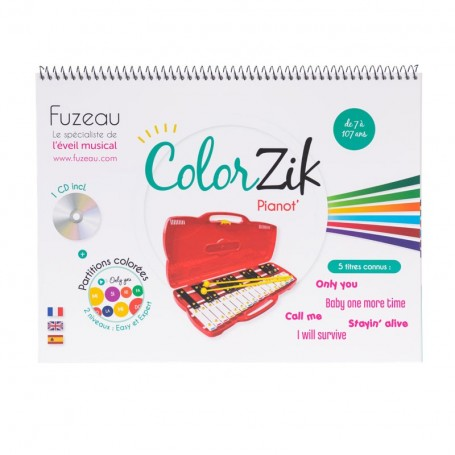 LIVRET-CD COLORZIK Pianot'