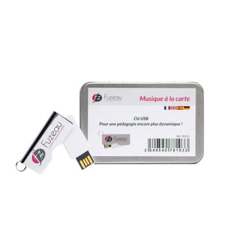 CLE USB MUSIQUE A LA CARTE