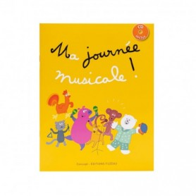 LIVRET-CD MA JOURNEE MUSICALE