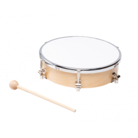 TAMBOURIN PEAU SYNTHETIQUE 20 CM