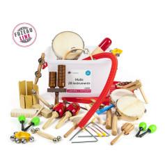Malle sélection de 28 instruments FUZEAU