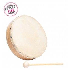 TAMBOURIN 20 CM SANS CYMBALETTES FUZEAU